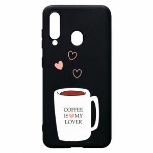 Etui na Samsung A60 Coffee is my lover
