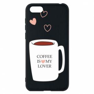 Etui na Huawei Y5 2018 Coffee is my lover