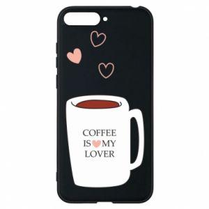 Etui na Huawei Y6 2018 Coffee is my lover