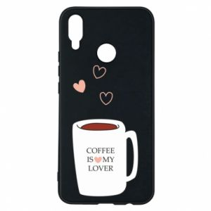 Etui na Huawei P Smart Plus Coffee is my lover
