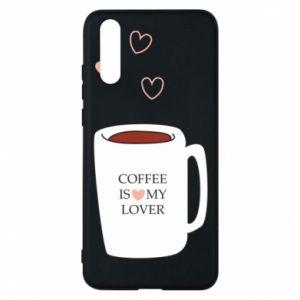 Etui na Huawei P20 Coffee is my lover