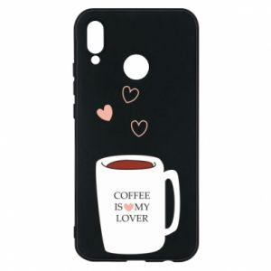 Etui na Huawei P20 Lite Coffee is my lover