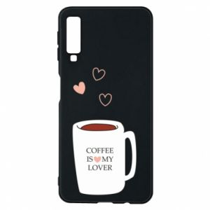 Etui na Samsung A7 2018 Coffee is my lover