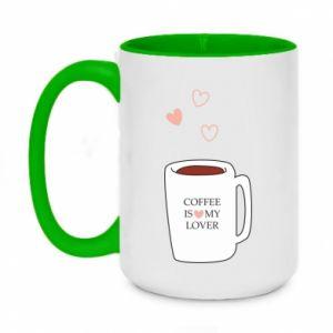 Kubek dwukolorowy 450ml Coffee is my lover