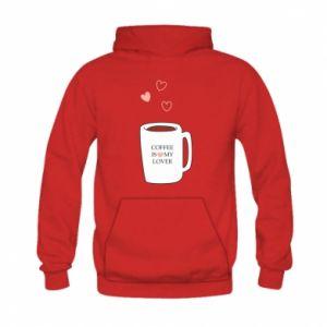 Bluza z kapturem dziecięca Coffee is my lover