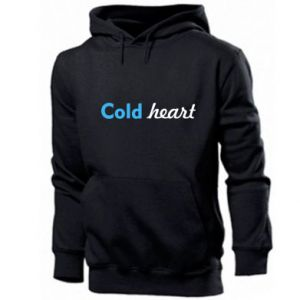 Męska bluza z kapturem Cold heart