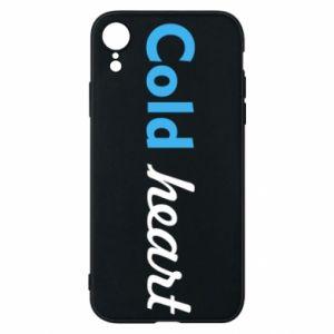 Etui na iPhone XR Cold heart