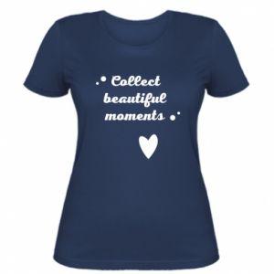 Damska koszulka Collect beautiful moments