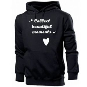 Męska bluza z kapturem Collect beautiful moments