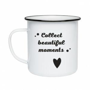 Kubek emaliowane Collect beautiful moments