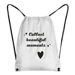 Plecak-worek Collect beautiful moments