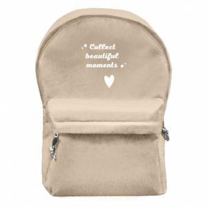 Plecak z przednią kieszenią Collect beautiful moments