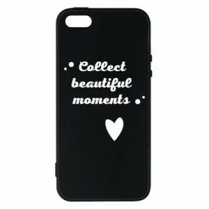Etui na iPhone 5/5S/SE Collect beautiful moments