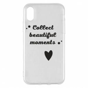 Etui na iPhone X/Xs Collect beautiful moments