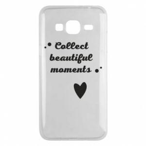 Etui na Samsung J3 2016 Collect beautiful moments