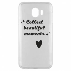 Etui na Samsung J4 Collect beautiful moments