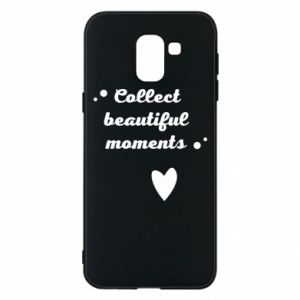 Etui na Samsung J6 Collect beautiful moments