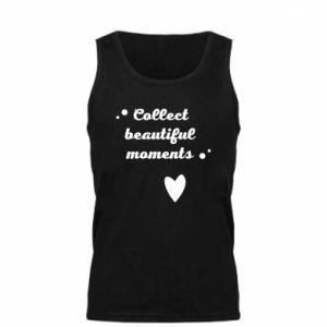 Męska koszulka Collect beautiful moments