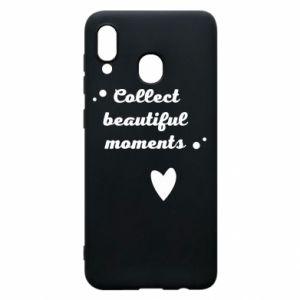 Etui na Samsung A20 Collect beautiful moments