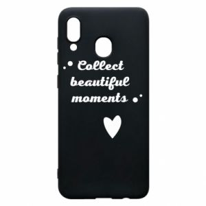 Etui na Samsung A30 Collect beautiful moments