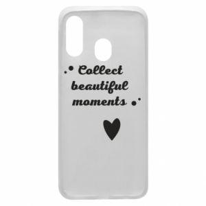 Etui na Samsung A40 Collect beautiful moments