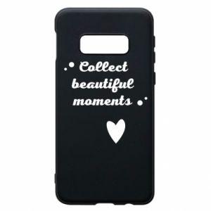 Etui na Samsung S10e Collect beautiful moments