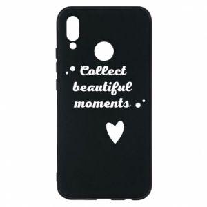 Etui na Huawei P20 Lite Collect beautiful moments