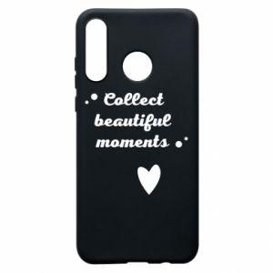 Etui na Huawei P30 Lite Collect beautiful moments
