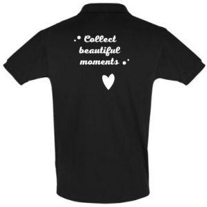 Koszulka Polo Collect beautiful moments
