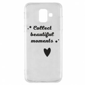 Etui na Samsung A6 2018 Collect beautiful moments