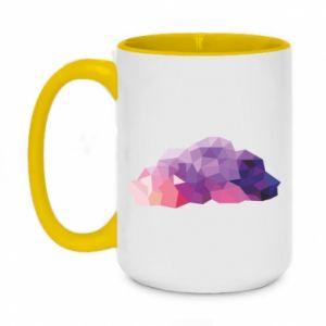Kubek dwukolorowy 450ml Color cloud