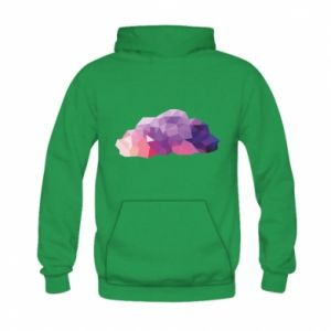Bluza z kapturem dziecięca Color cloud