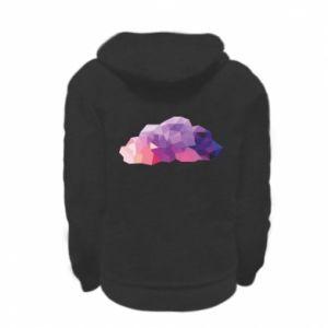 Bluza na zamek dziecięca Color cloud