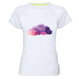 Koszulka sportowa damska Color cloud