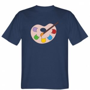 T-shirt Color palette with cats