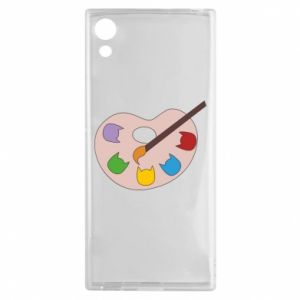 Etui na Sony Xperia XA1 Color palette with cats