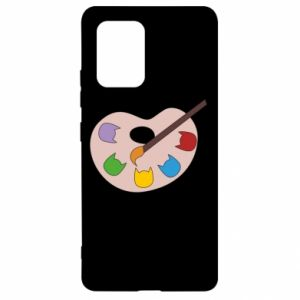 Etui na Samsung S10 Lite Color palette with cats