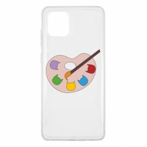 Etui na Samsung Note 10 Lite Color palette with cats