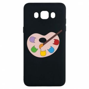 Etui na Samsung J7 2016 Color palette with cats