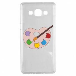 Etui na Samsung A5 2015 Color palette with cats