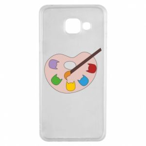 Etui na Samsung A3 2016 Color palette with cats
