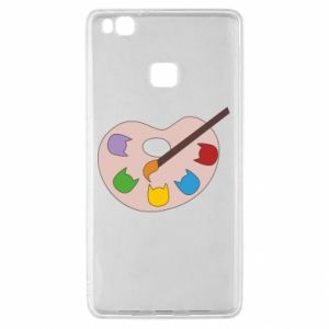 Etui na Huawei P9 Lite Color palette with cats
