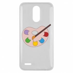 Etui na Lg K10 2017 Color palette with cats