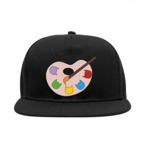 Snapback Color palette with cats