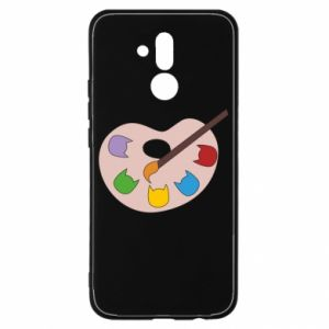 Etui na Huawei Mate 20 Lite Color palette with cats