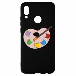 Etui na Huawei P Smart 2019 Color palette with cats