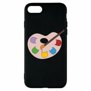 Etui na iPhone SE 2020 Color palette with cats