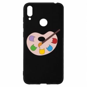 Etui na Huawei Y7 2019 Color palette with cats
