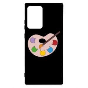 Etui na Samsung Note 20 Ultra Color palette with cats