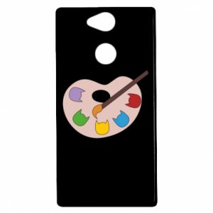 Etui na Sony Xperia XA2 Color palette with cats